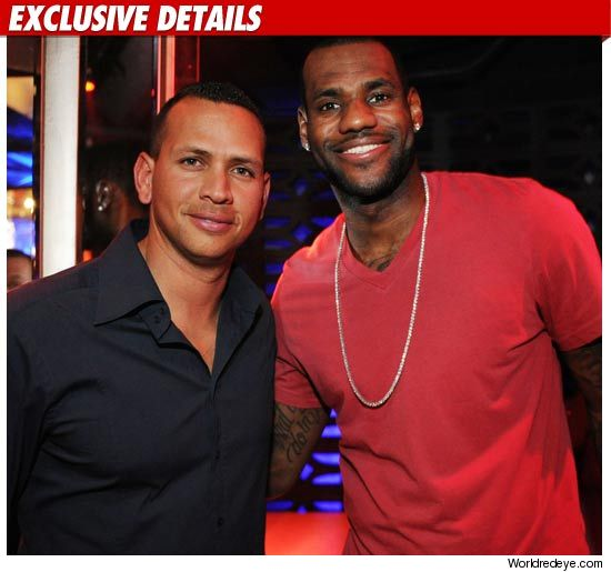 LeBron James, Alex Rodriguez